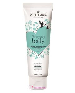 Натуральная очищающая пенка для лица Blooming Belly Attitude, 150 мл
